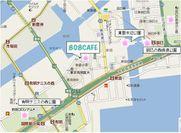 808CAFE(やおカフェ)周辺のお花見MAP