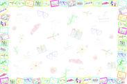 カンボジアの子供達の絵で作ったアルバムデザイン1