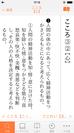 国語辞典画面
