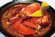 料理写真(オマール海老のパエリア)