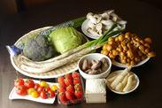 コース料理に使用した旬のいわき野菜