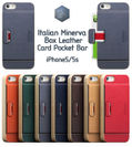 SLG Design iPhone 5 / 5s D6 Italian Minerva Box Leather Card Pocket Bar