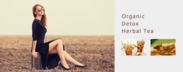 organic detox tea image