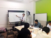 「数学コーチャーによる数学講座」講座風景