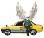 ペガサスのタクシー運転手