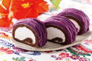 紅いもロールケーキイメージ