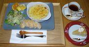 自然薯と豆乳のグラタン、プレートランチ