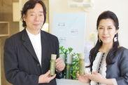 ビューティジャーナリスト岡部 美代治&株式会社クィーン笹川 直子