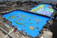 にぎやか海のアートプール」イメージ