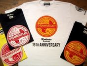 15周年記念Tシャツ