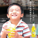 シュワッとすっぱい「瀬戸内 塩檸檬サイダー」