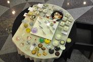 展示風景 丸テーブル