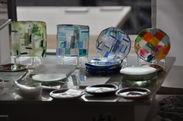 豆皿 ガラス