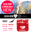 「ALISA UENO PAPERLASH」告知用 (2)