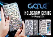 iPhone 5/5s用レザーケース Hologram Crocoシリーズ