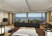 トリプルルームから見た琵琶湖の景色