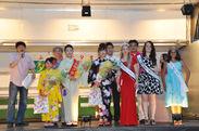 国際色豊かな織姫コンテスト(昨年の様子)
