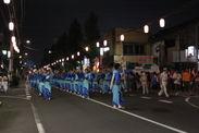 福生市民の絆を感じられる民謡パレード(昨年の様子)