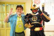 薩摩剣士隼人と吉留理事長