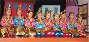インドネシアの子どもたちによる舞踊