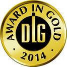 DLG(ドイツ農業協会)コンテスト金賞