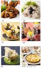 中国料理、日本料理、デザート