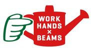 WORK HANDS×BEAMS ロゴ