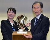 平成26年度 SCRP日本選抜大会 優勝者 昭和大学 道家 碧さん