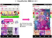 CocoPPa Pot利用イメージ