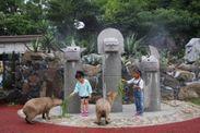 伊豆シャボテン公園「カピバラ虹の広場」