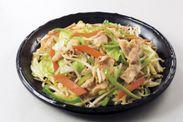 使用例:野菜炒め