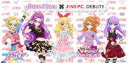 アイカツ!スタイル×JINS PC JINSオリジナルアイカツ!カードつきコラボモデル(1)