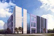 「上海 プードン データセンター」の外観イメージ