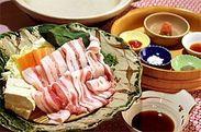 平牧三元豚の常夜鍋1