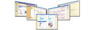 セキュリティログ分析ソリューション:レポート・イメージ