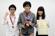 第5回日本数学オープン 優勝「杉ちゃんず」チーム