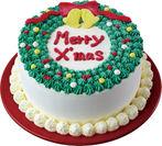世界共通版 クリスマスリースのデザイン