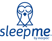 『sleep me』ロゴ