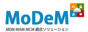 「MoDeM」ロゴ