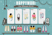 Happymori iPhone 6 Plus バーケース