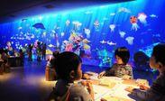 チームラボ お絵かき水族館
