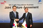 三井化学とSKC社のポリウレタン材料事業統合