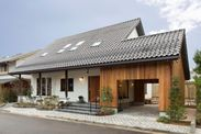伝統的な大屋根の外観
