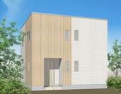 『無落雪住宅』モデルハウスの外観