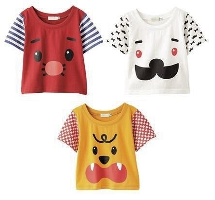 フェイスTシャツ 3種
