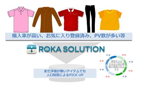 ROKA SOLUTION導入前後のイメージ図