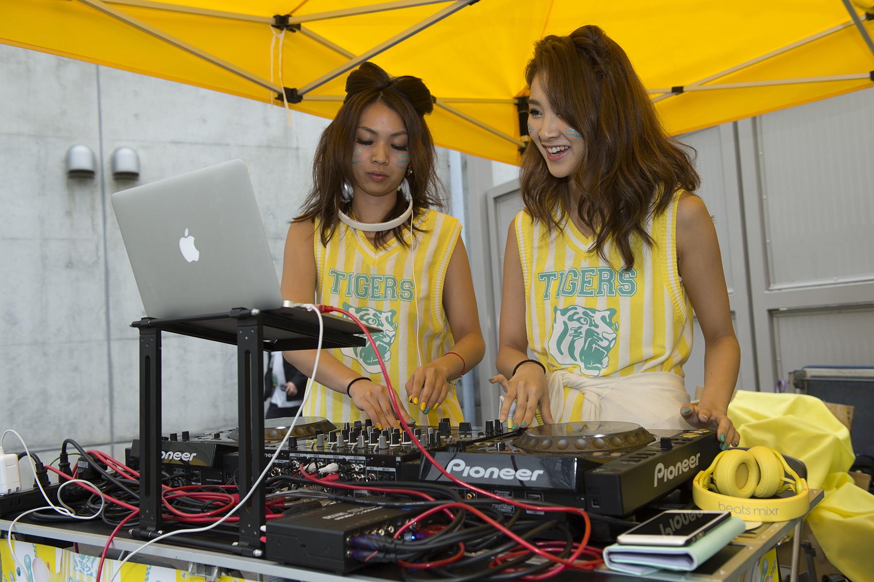 DJユニット