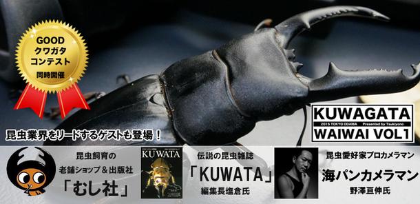 『クワガタワイワイVOL1』
