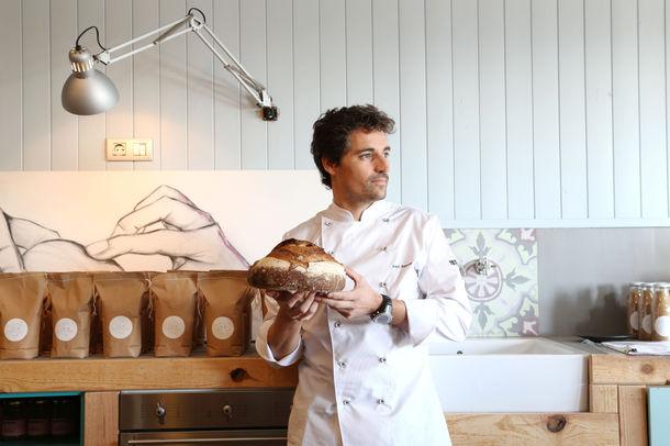 「エル・ブリ」のパンの作り手チャヴィ・シモン氏来日
