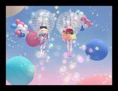 女子バブルサッカー2